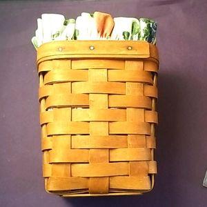 1994 Longaberger Small Teaspoon Basket
